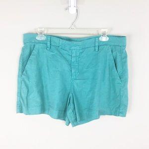 Level 99 | Anthro Turquoise Wash Shorts